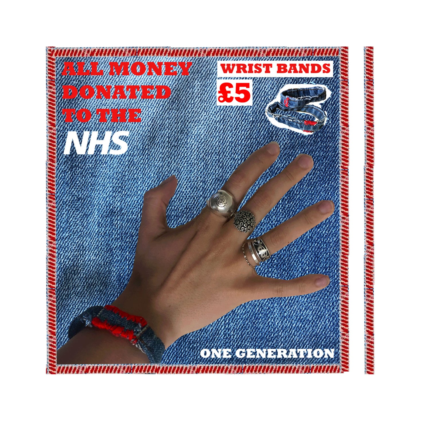 Image of NHS WRIST BANDS