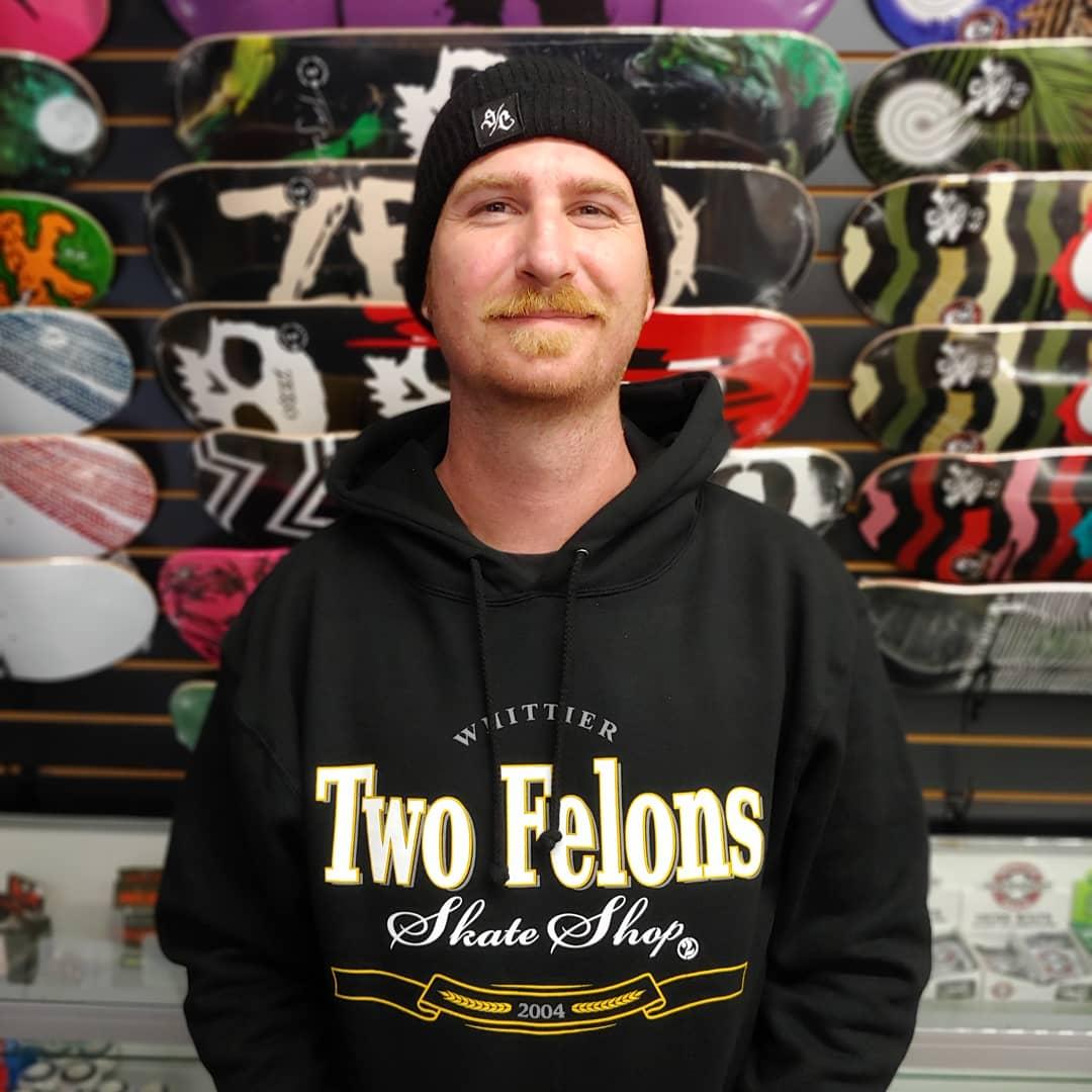 "Two Felons ""MT Black"" pullover Hoody"