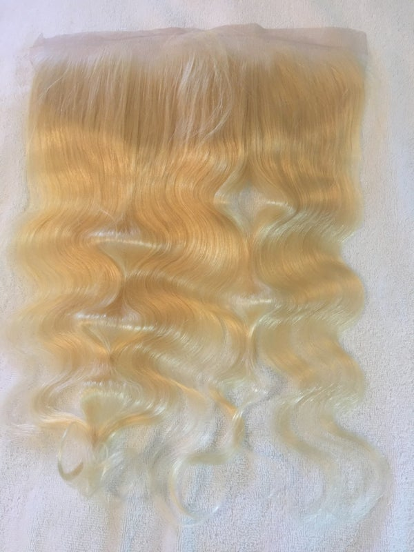 """Image of 613 blonde Frontal 20"""""""