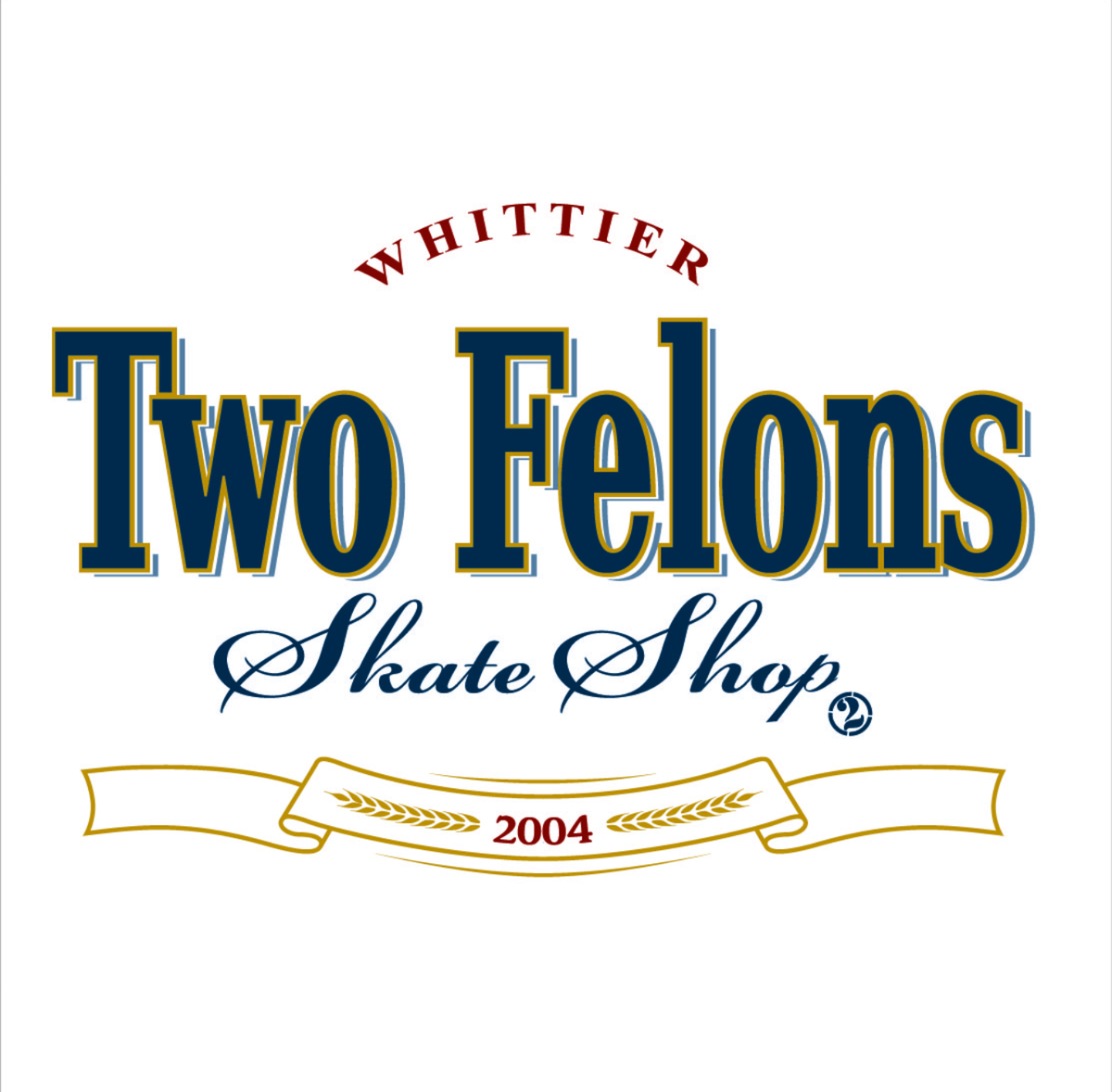 """Two Felons """"MT White"""" T"""