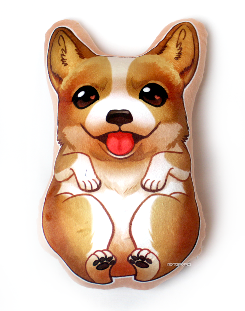 Corgi Pillow Plush