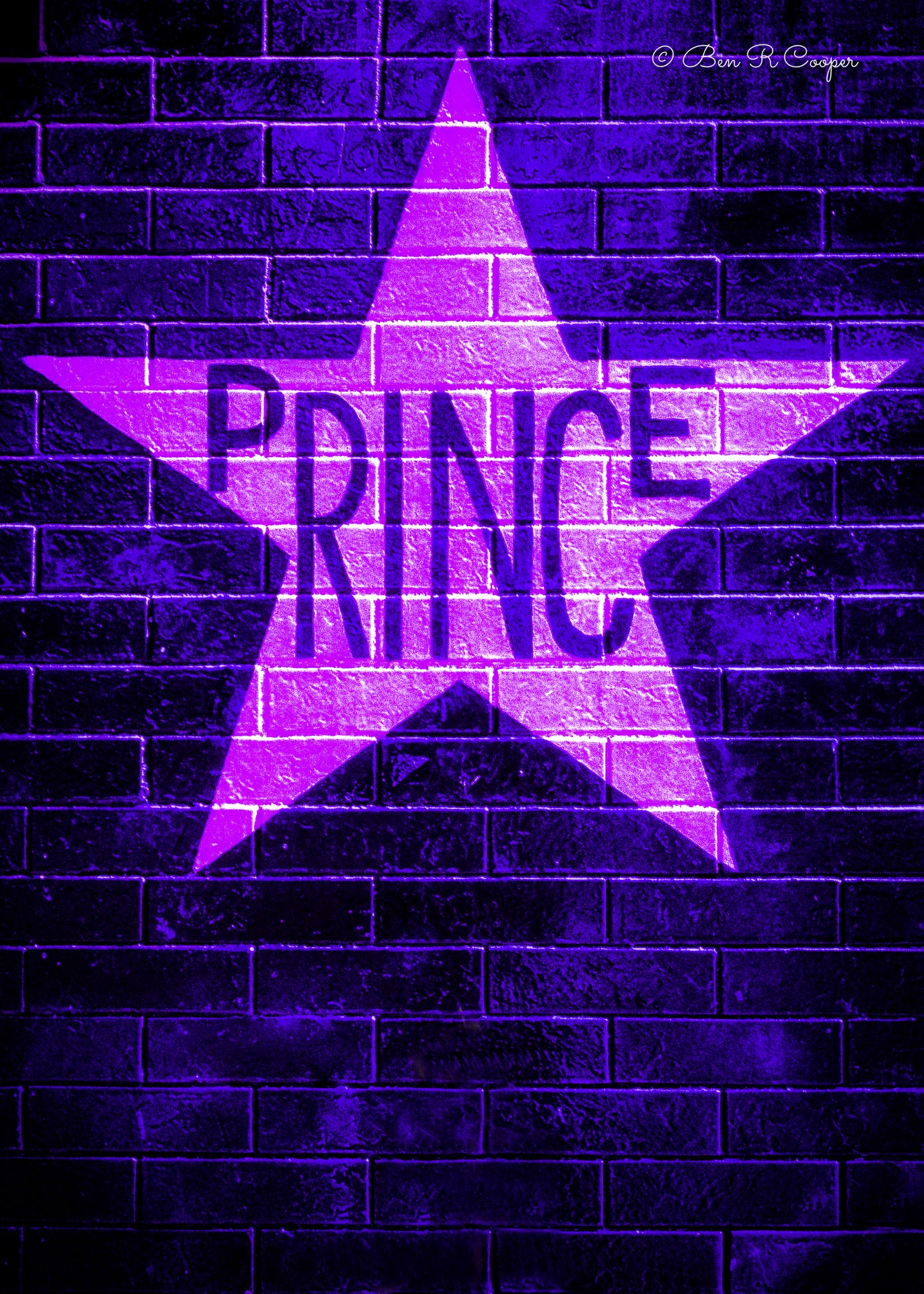 Prince and First Avenue Black-mat Commemorative Set or Individually