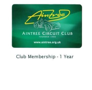 Image of Aintree Circuit Club Membership
