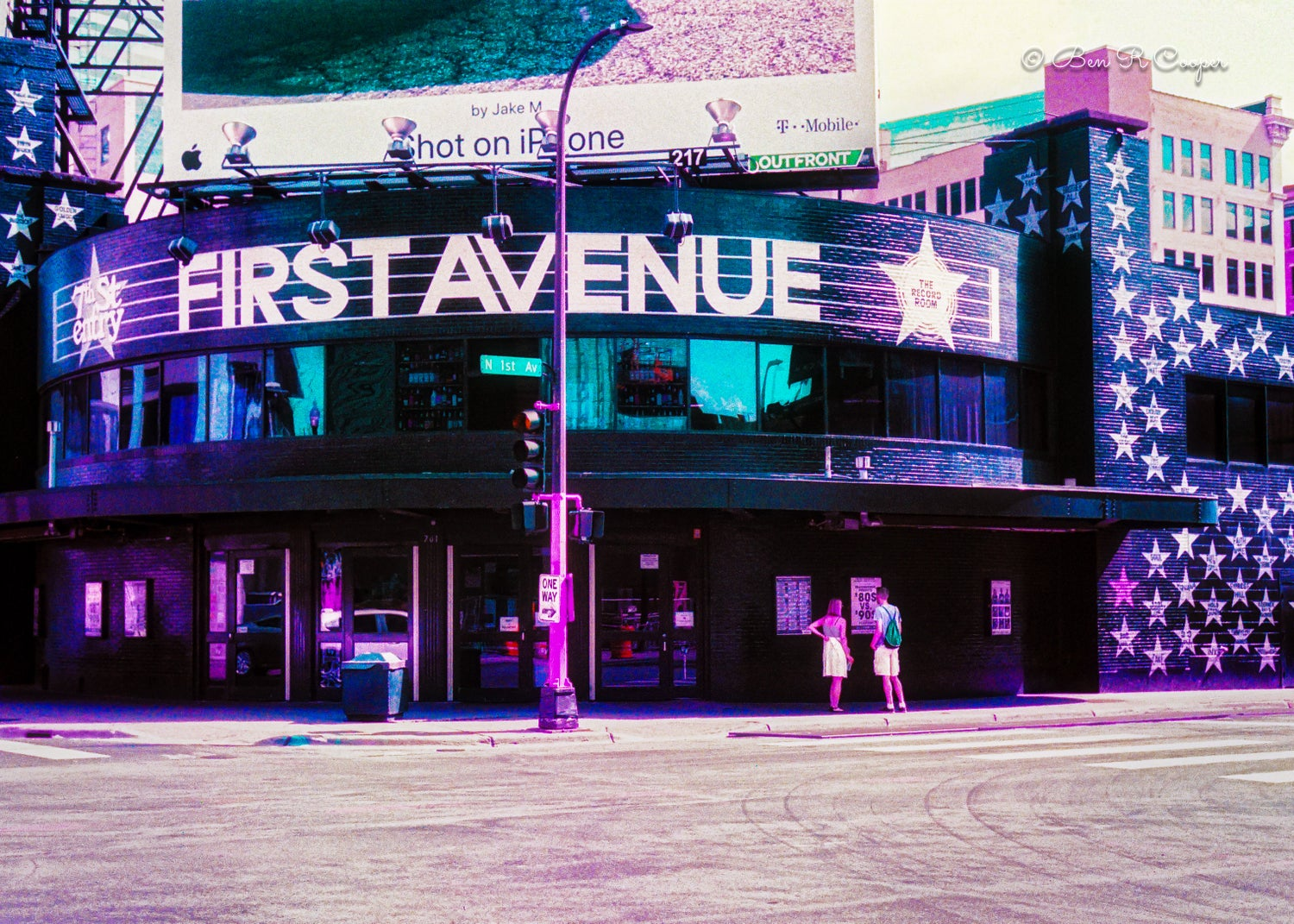 First Avenue Building - Purple Film