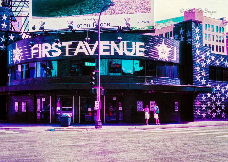 First Avenue Building - Purple Film