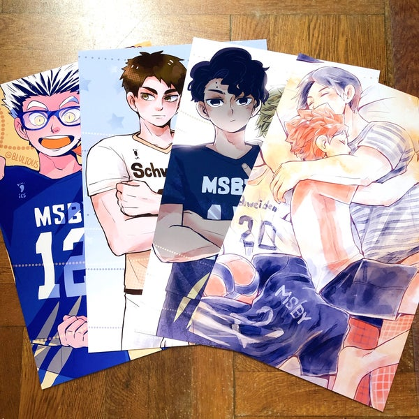 Image of Haikyuu!! Timeskip Prints