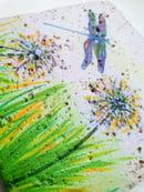 Image 2 of Dandelion & Dragonfly Stone Coaster
