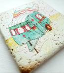 Image 2 of Vintage Caravan Stone Coaster