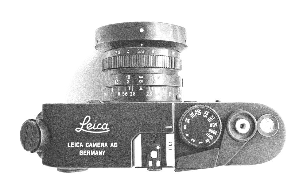 Image of Leica M6 Print