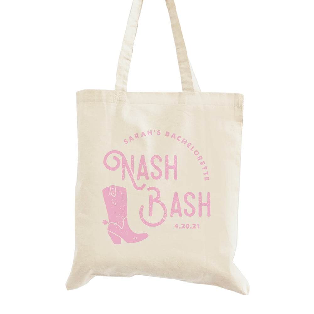 Image of Nash Bash Bachelorette Tote Bag