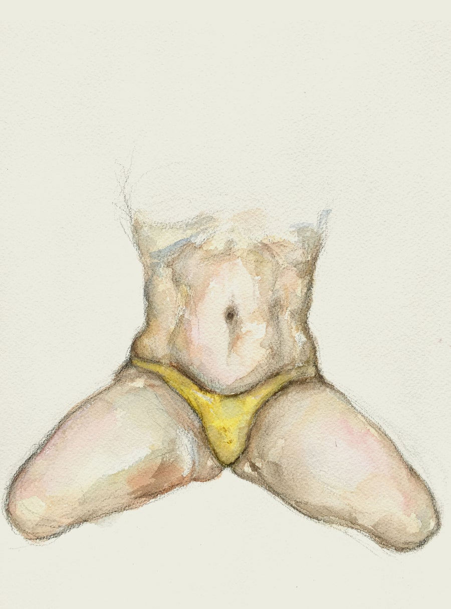 Image of Drawing 'Summer body' (2019)