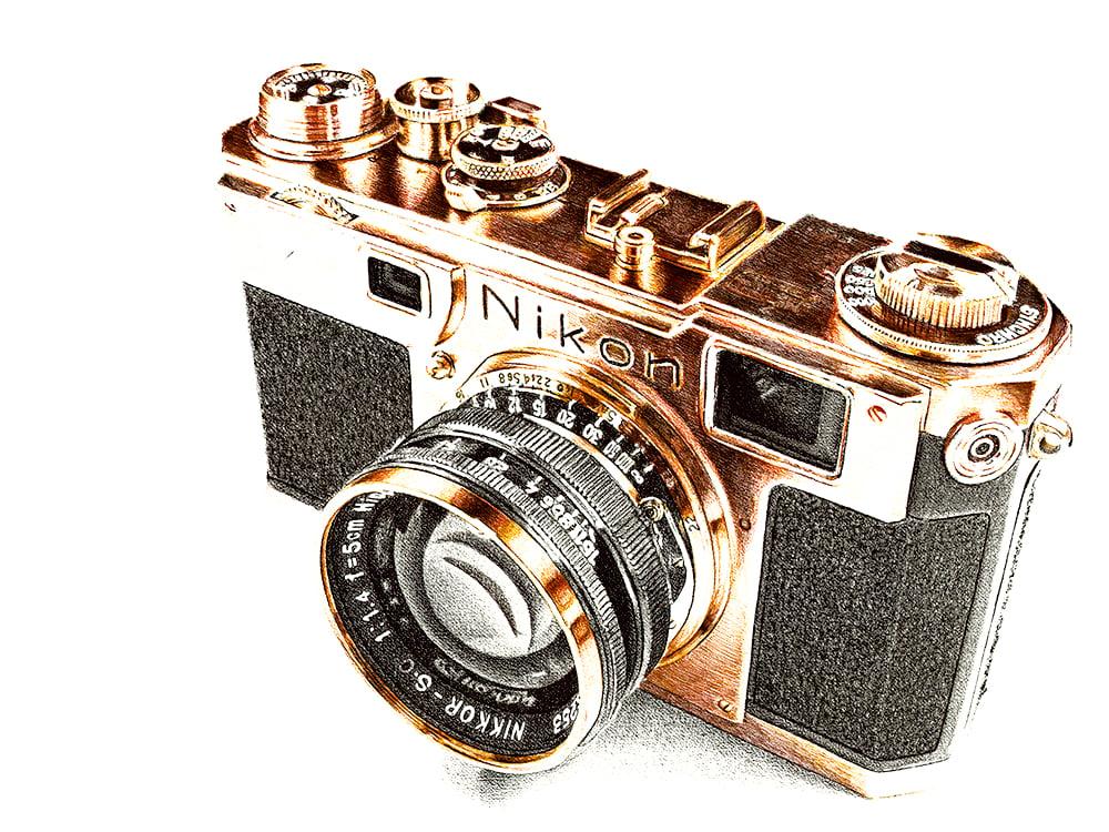 Image of Gold Nikon