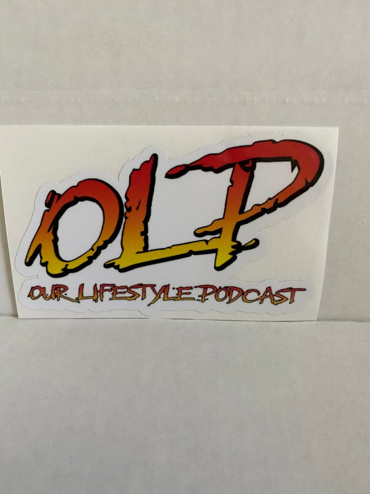 Image of OLP rad themed stickers