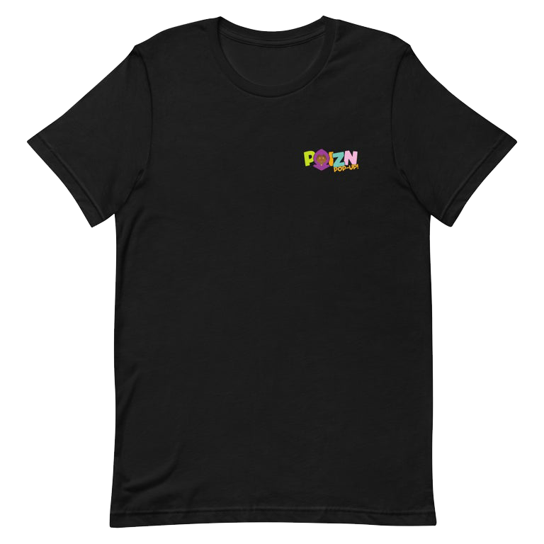 "Image of Black ""POIZN POP-UP!"" T-Shirt"