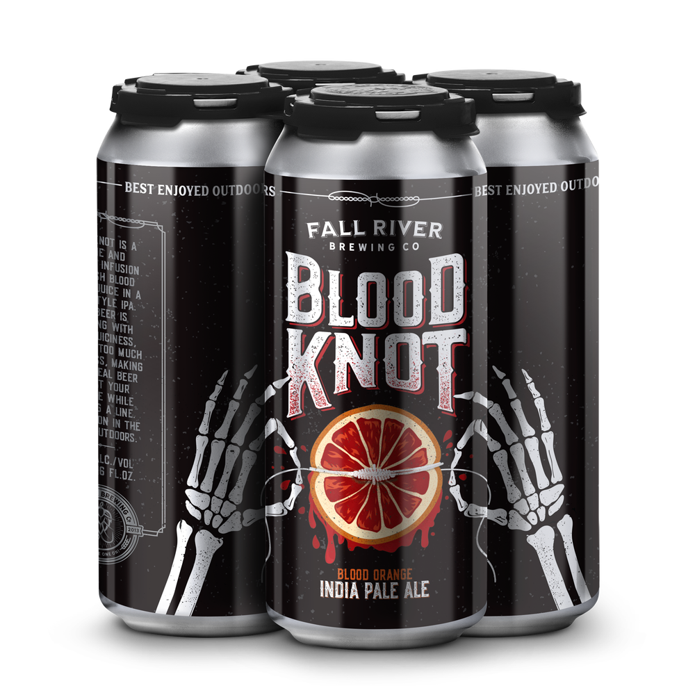 Image of Blood Knot - Blood Orange NE IPA - Case of 24, 16 ounce cans