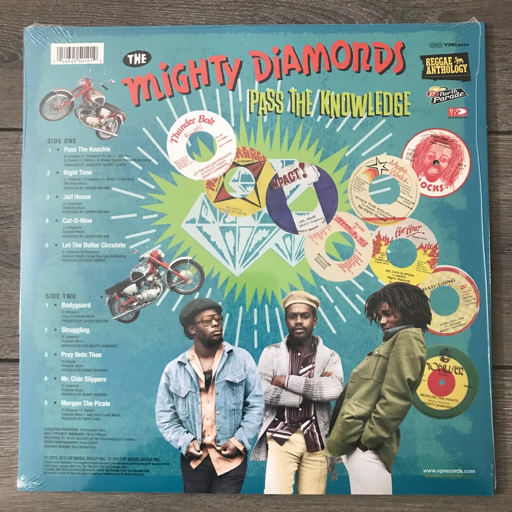 Image of The Might Diamonds - Pass The Knowledge Reggae Anthology Vinyl LP