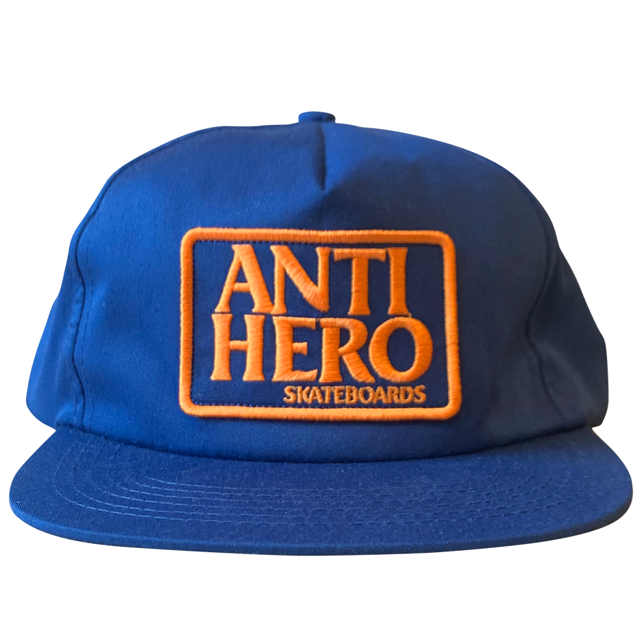Image of Antihero Reserve Patch Snapback - Navy