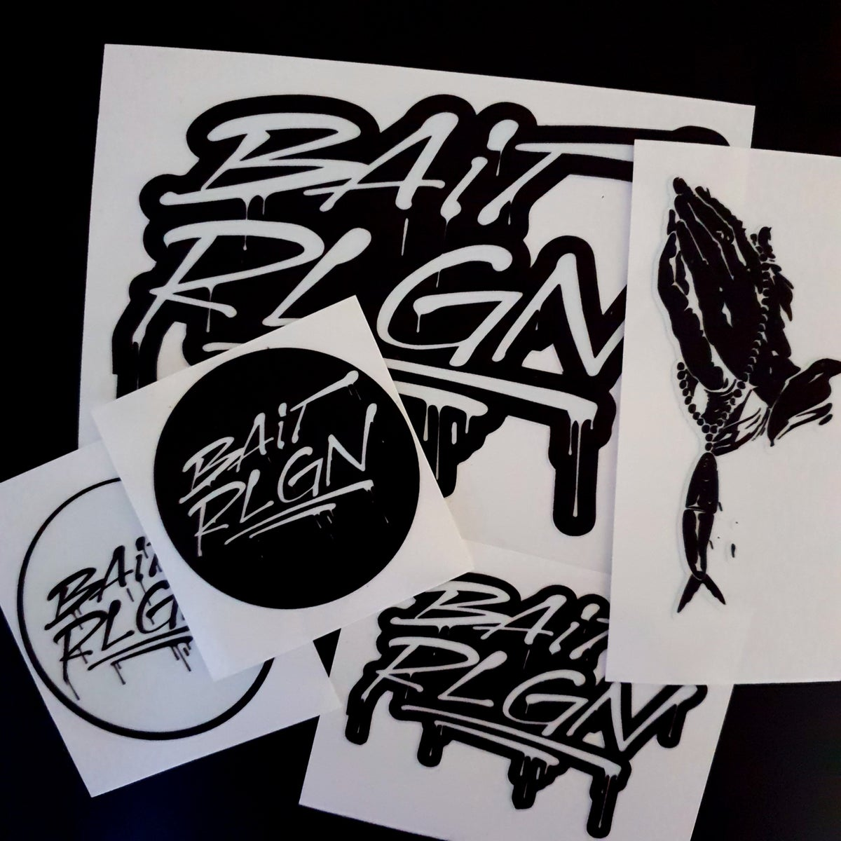 Image of 5 PIECE DECAL CARE PACKAGE
