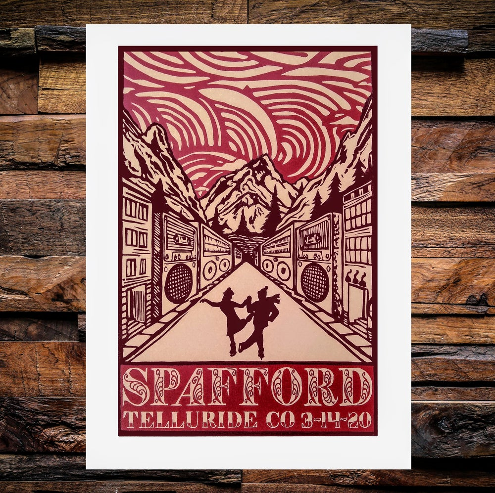 Image of Spafford Telluride Print 3/14/2020
