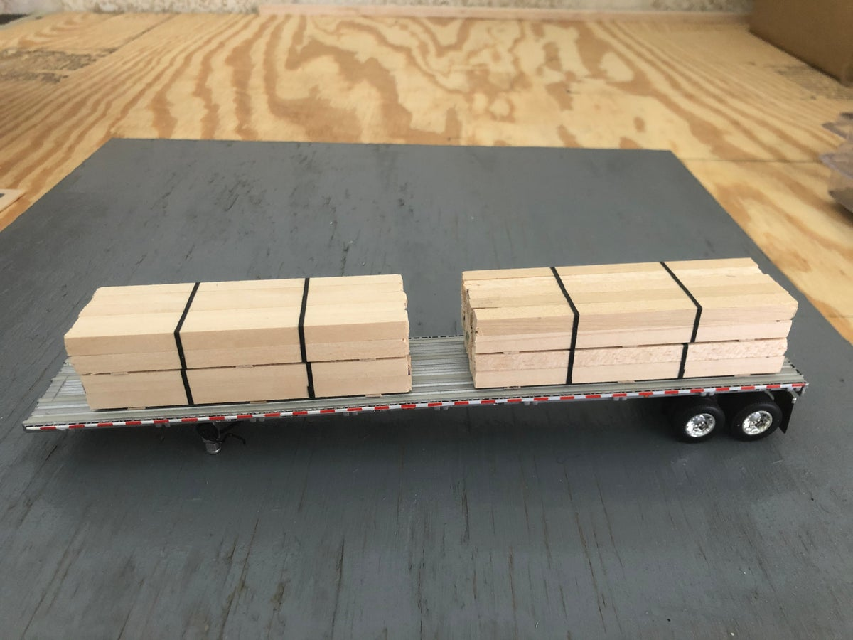Dcp 4x4 Lumber Load Diecast Replica Collectibles N Toys
