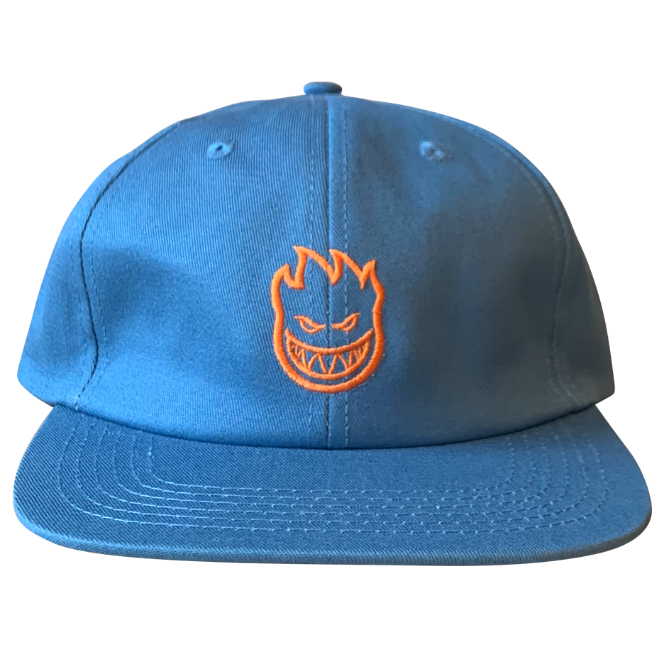 Image of Spitfire Big Head Embroidered 6-Panel - Slate Blue