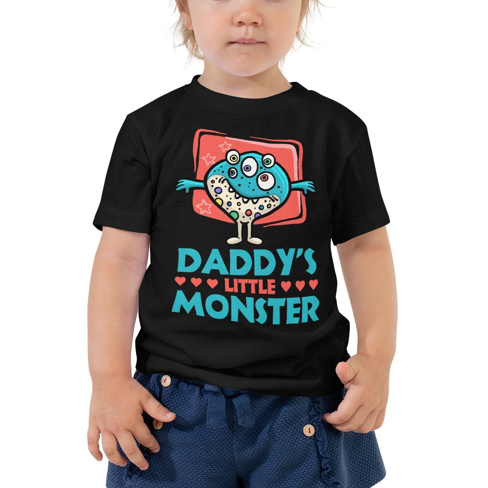 Daddy's Little Monster Tee (Number One)