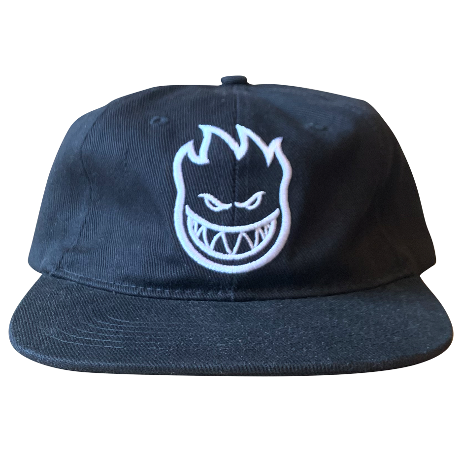 Image of Spitfire Bighead Emroidered 6-Panel - Black