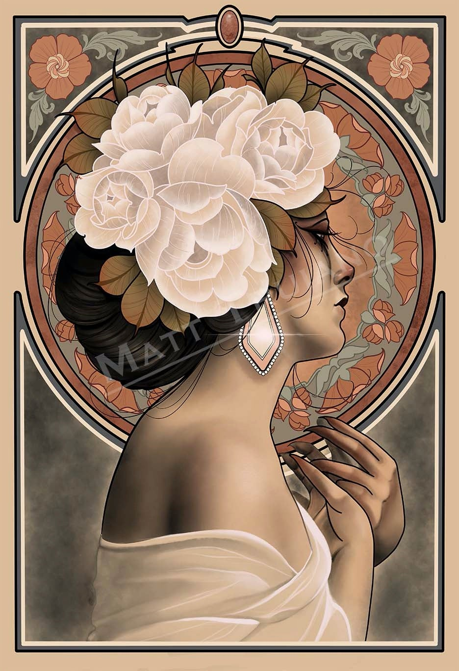 Lady nouveau VI