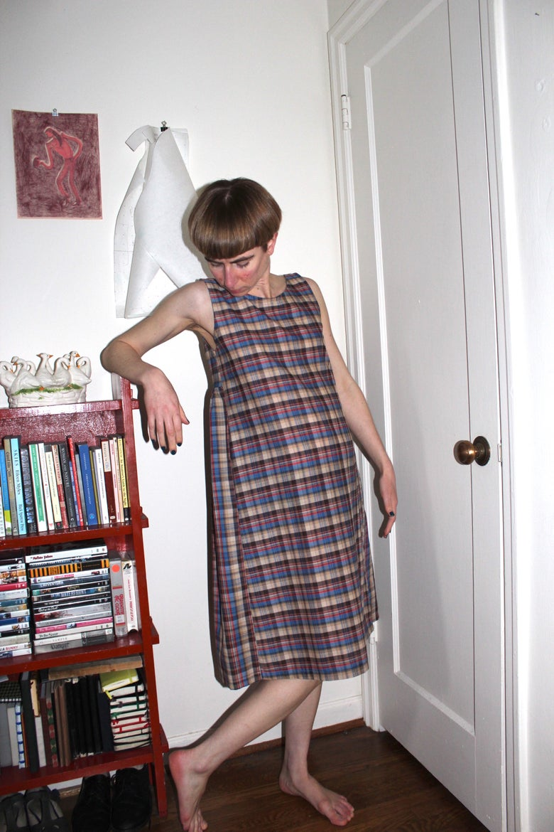 Image of Yves Dress - Plaid