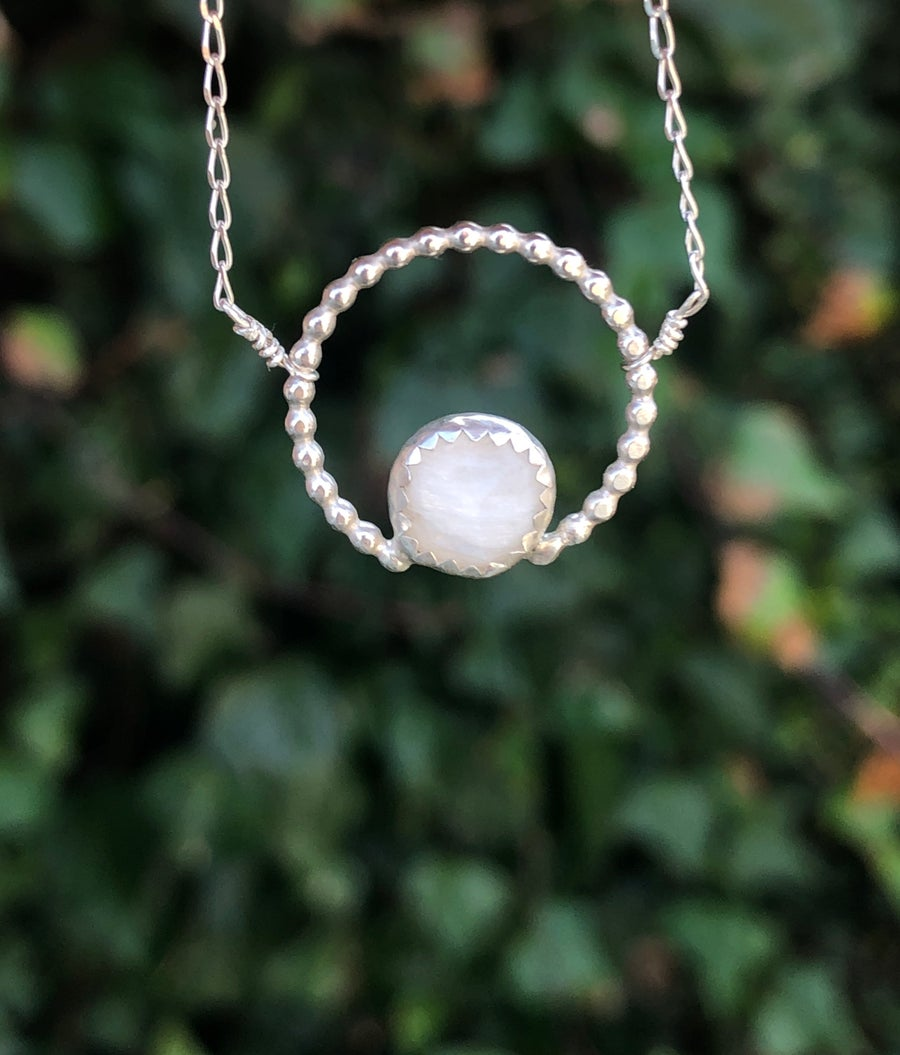 Image of Moonstone Necklace