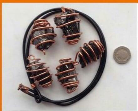Image of Elite Shungite Pendant Necklaces