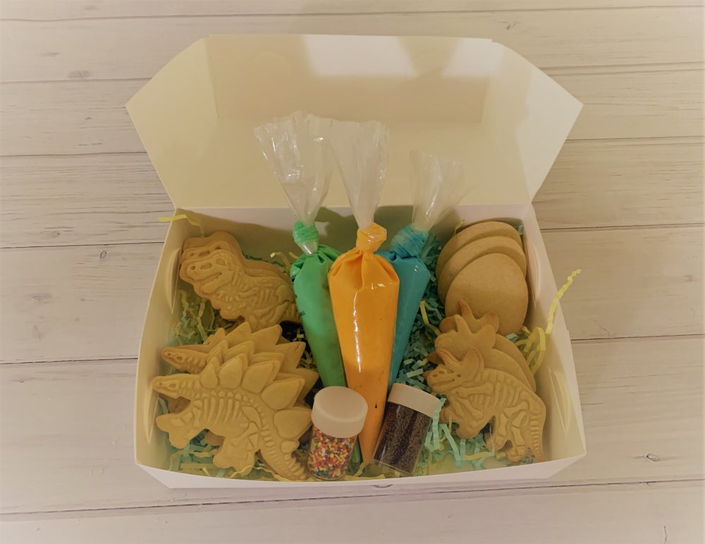 Image of Decorate Your Own Dinosaur Cookies Pack