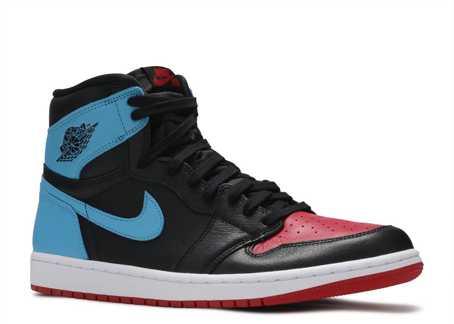 "Image of Nike Retro Air Jordan 1 OG ""UNC TO CHICAGO"" Sz 11.5W/10Mens"