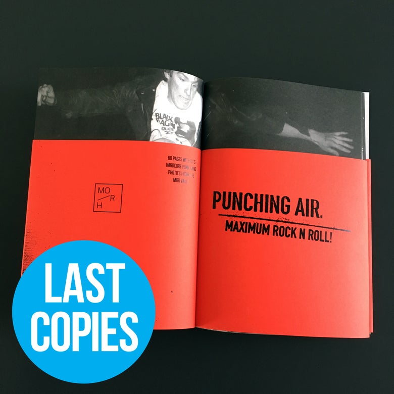 Image of PUNCHING AIR 01 | €8 (ex ppd)