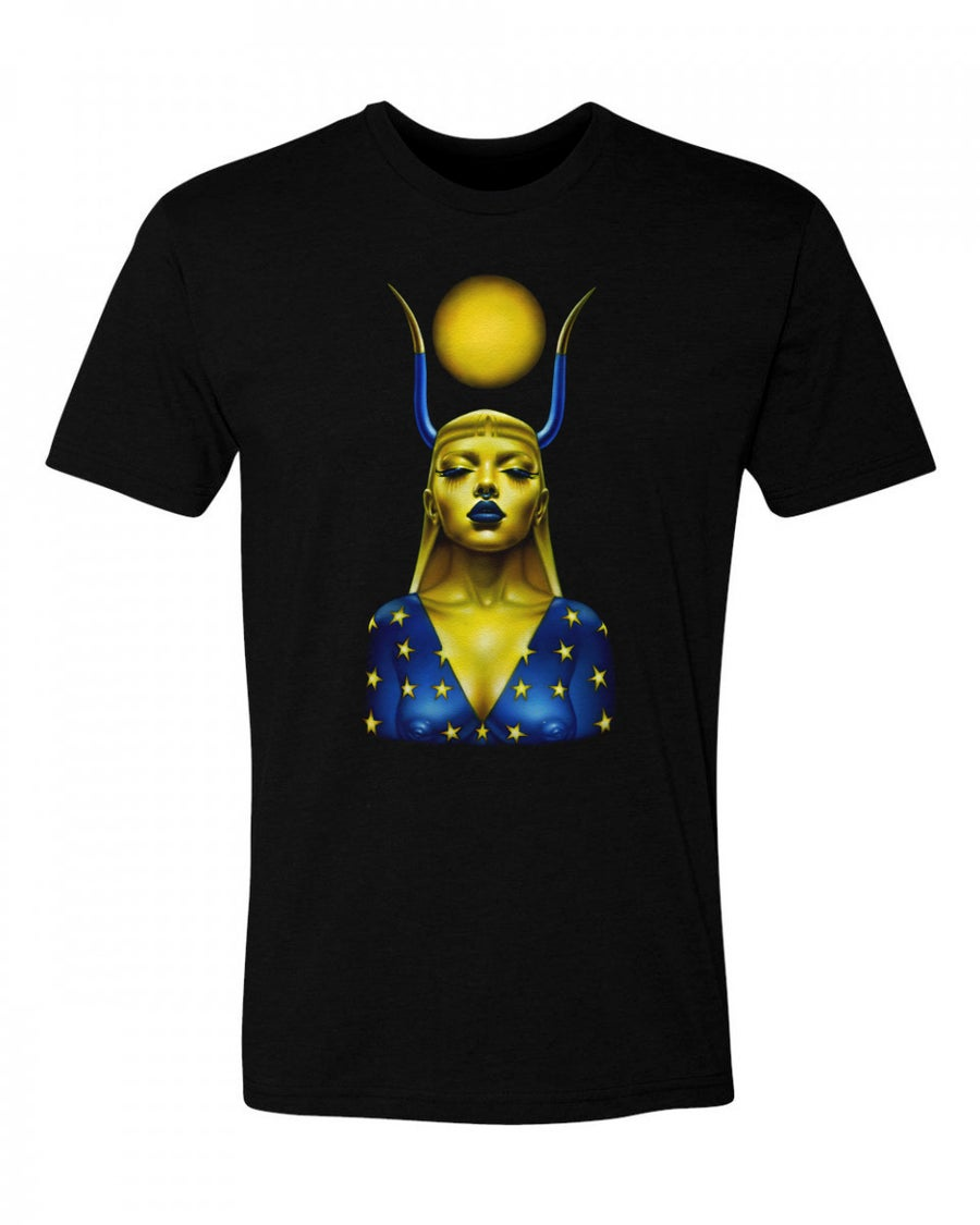 Image of Taurus T-shirt - Unisex - Black Cotton
