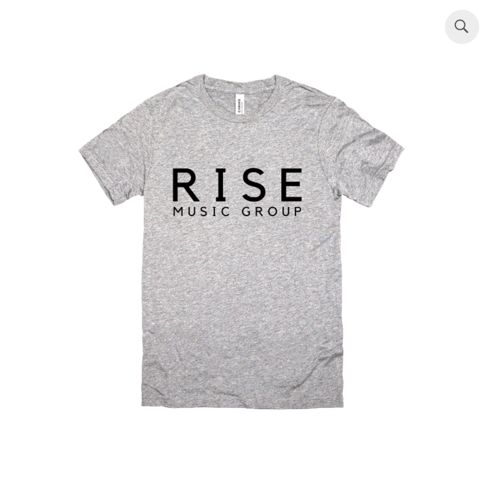 RISE T-Shirt Logo (Grey)