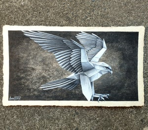 "Image of ""Horus"" original painting"