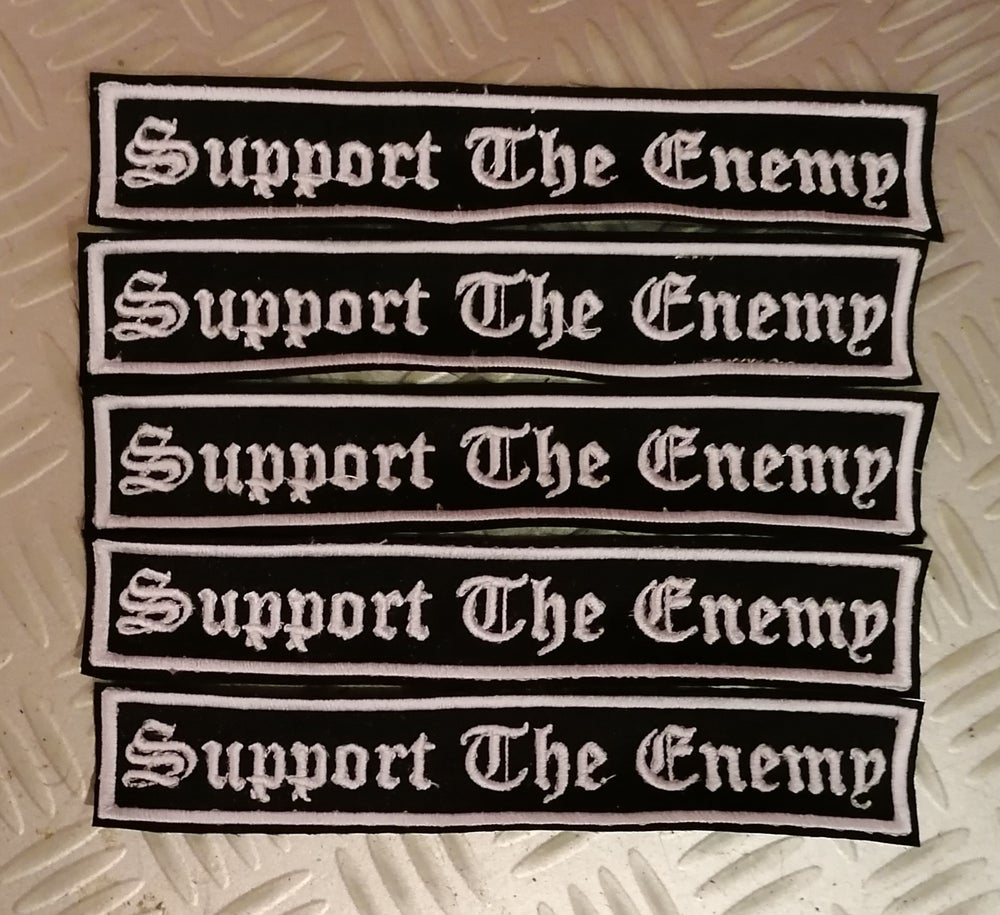 "Image of Shining ""Support The Enemy"" Patch"