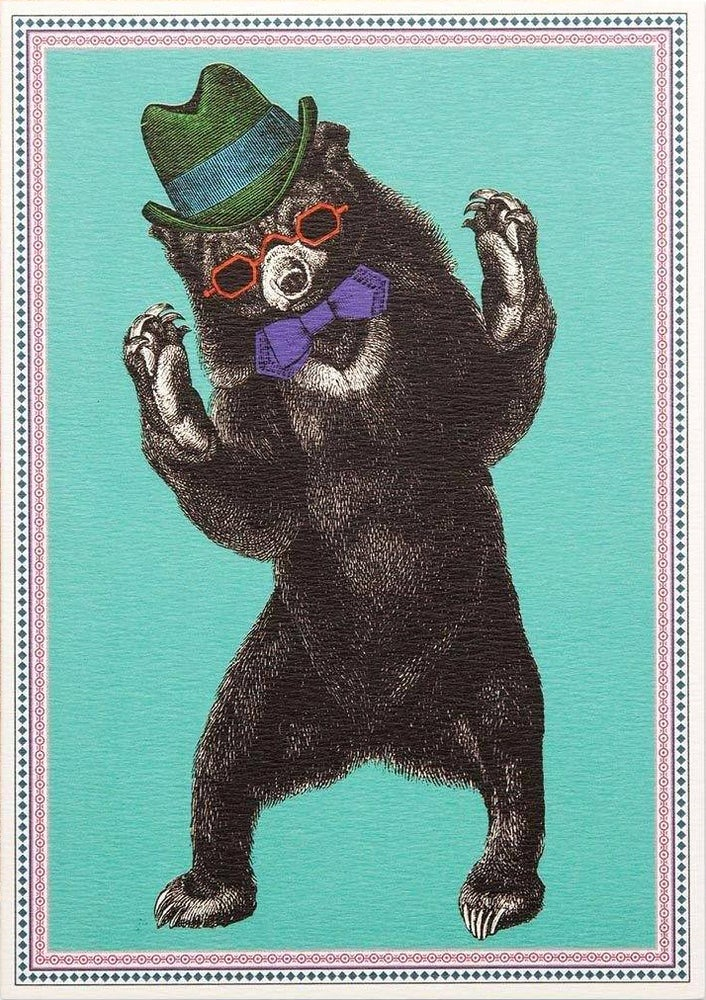 Image of Party Bear Card
