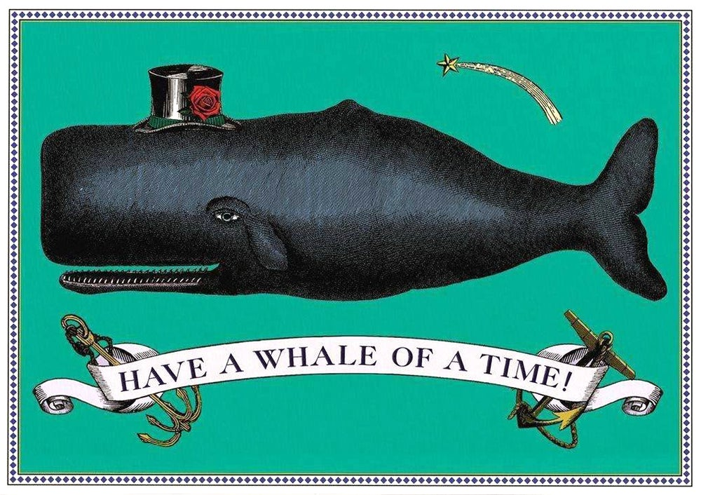 Image of Whale of a Time Card