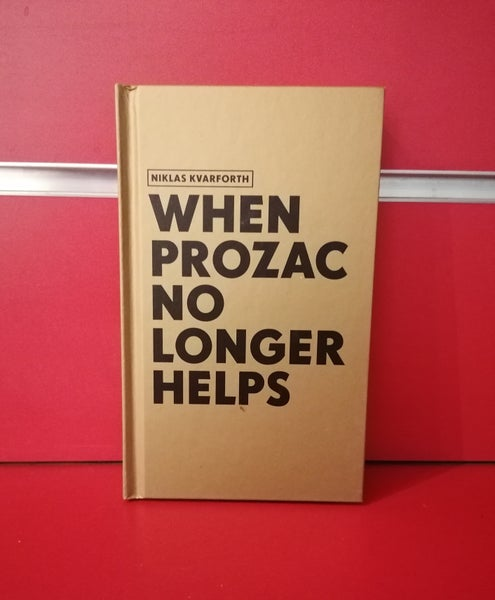 "Image of Niklas Kvarforth ""When Prozac No Longer Helps"" HARDCOVER BLOOD EDITION"