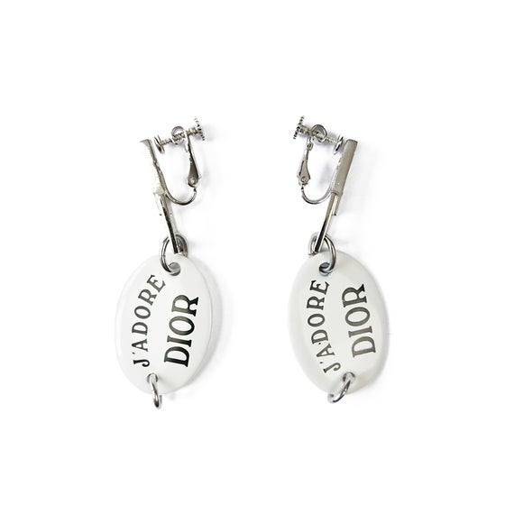 Image of Dior J'adore 'Email Me' Earrings
