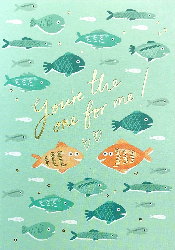 Image of Fish in the Sea Card