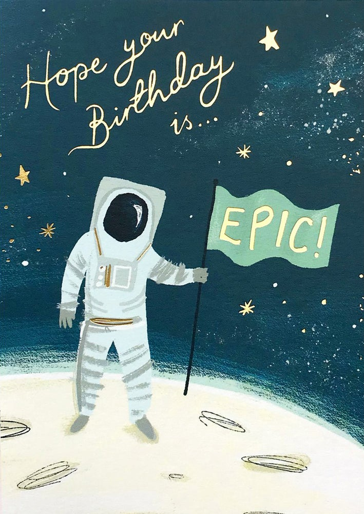 Image of Epic Birthday Card