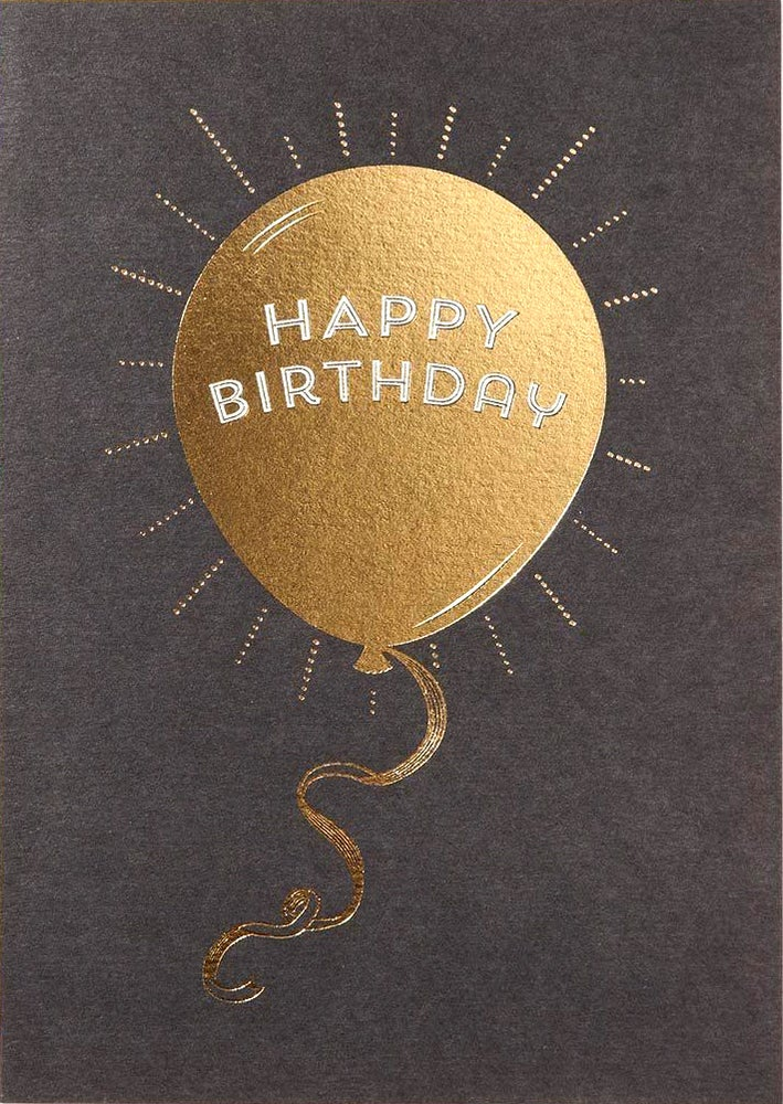 Image of Balloon Birthday Card