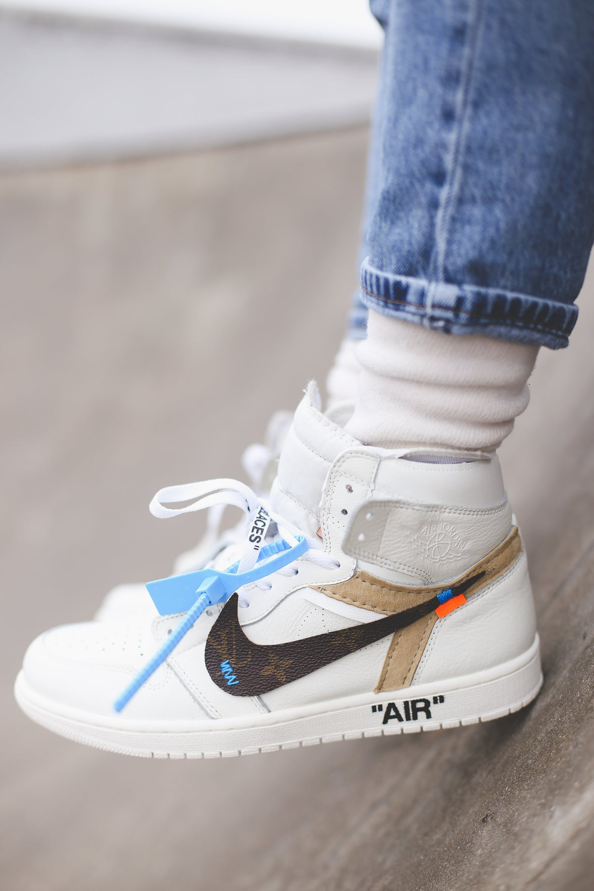 Image of Off-white swoosh