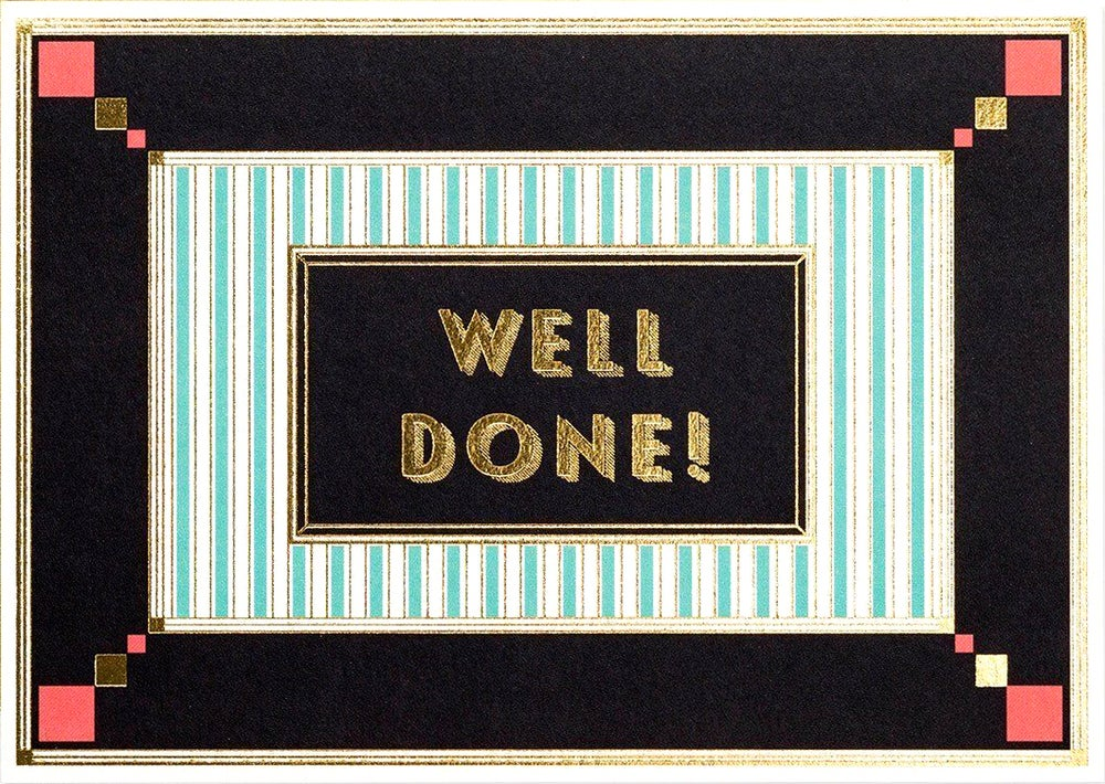 Image of Well Done Card