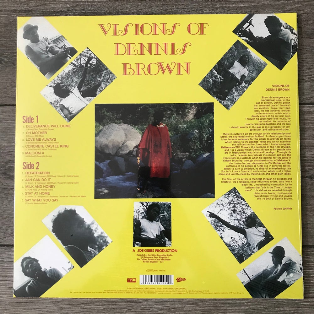Image of Dennis Brown - Visions Of Dennis Brown