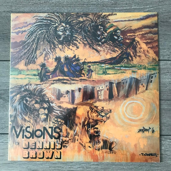 Image of Dennis Brown - Visions Of Dennis Brown Vinyl LP