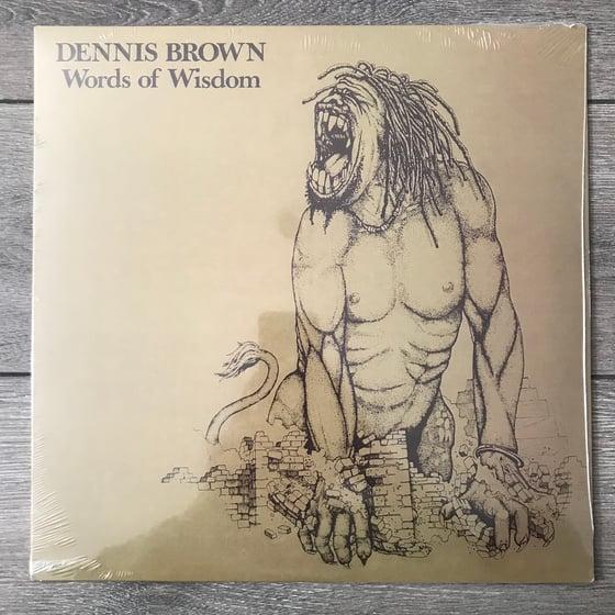 Image of Dennis Brown - Words Of Wisdom Vinyl LP